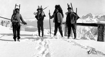 Quand les Paysans ravitaillent le Pic du Midi, expo Photo de l'année à Tarbes