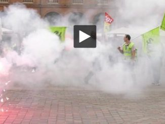 SNCF. les grévistes ont manifesté à Toulouse