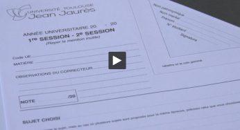 à l'Université Jaurès de Toulouse, les examens se sont passés dans le calme