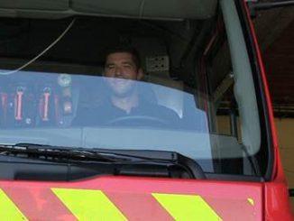 Christophe Samson, joueur du Castres Olympique, devient pompier volontaire