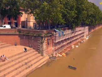 Crue de la Garonne à Toulouse, les images