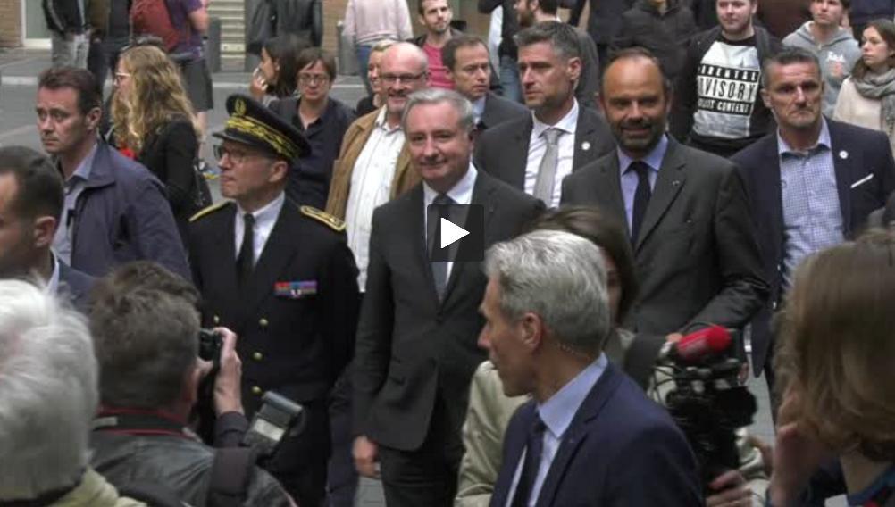 Edouard Philippe poursuit sa visite à Toulouse