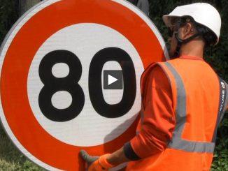 En Haute Garonne aussi les routes passent à 80 km h au lieu de 90