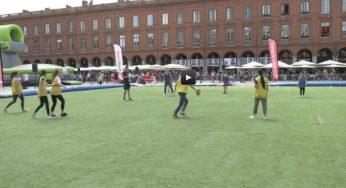 Festoval. Toulouse célèbre le rugby place du Capitole
