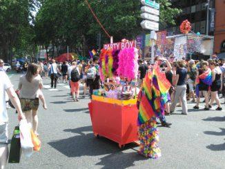 Impressionnante marche des fiertés 2018 à Toulouse