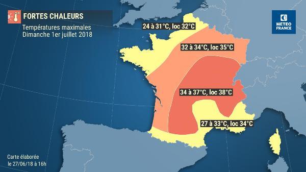 La canicule arrive sur Toulouse et tout le sud ouest de la France