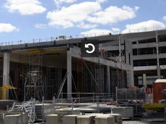 Le futur Parc des Expos de Toulouse sort de terre à Beauzelle