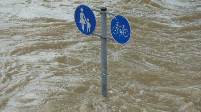 Marmande : routes bloquées et maisons inondées à cause des intempéries