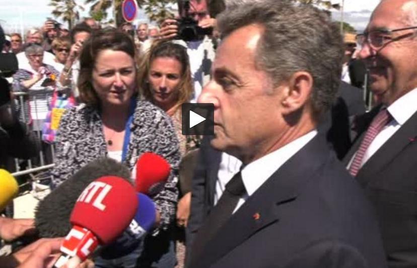 Nicolas Sarkozy à Port Leucate Sans le rassemblement rien n'est possible