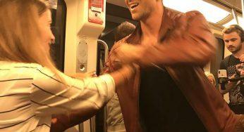 People : Maxime Dereymez danse dans le métro toulousain