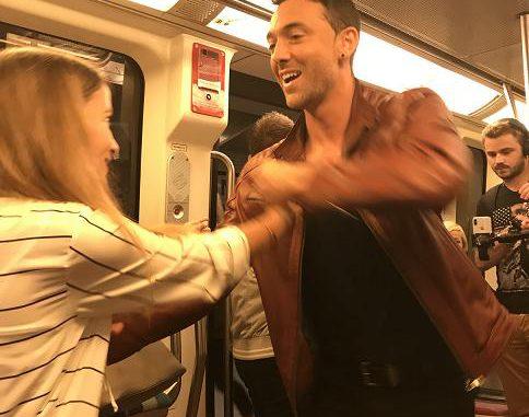 People Maxime Dereymez danse dans le métro toulousain