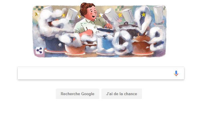 Qui est Eugénie Brazier célébrée ce mardi par Google France ?