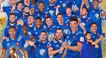 Les jeunes français champions du monde de rugby U20