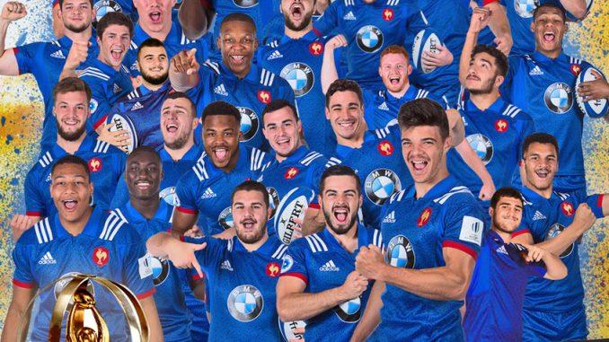 Les jeunes fran ais champions du monde de rugby u20 - Coupe du monde de rugby u20 ...