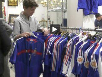 Toulouse : Les maillots de Zidane et des champions du monde '98 aux enchères