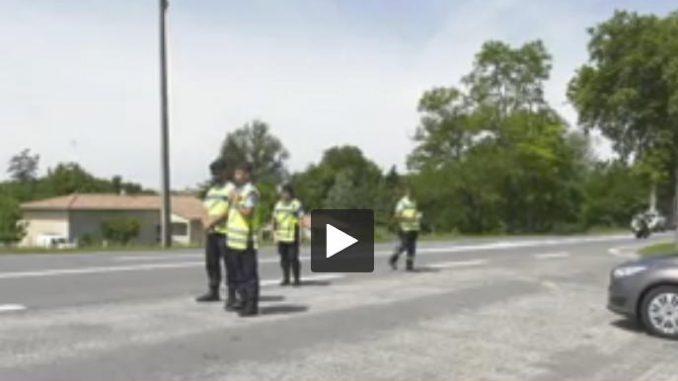 Toulouse. La gendarmerie sensibilise les automobilistes au passage au 80km/h