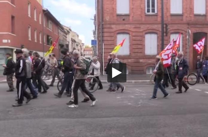 Toulouse. la confédération paysanne apporte son soutien aux grévistes de la SNCF