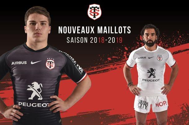 Voici le nouveau maillot Nike du Stade Toulousain