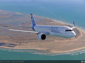 Série de mega commandes pour Airbus
