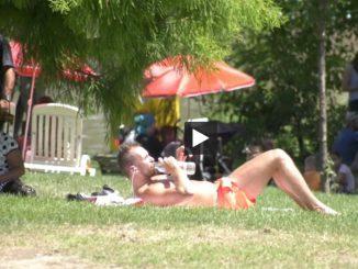Avec la chaleur Toulouse plage apporte un peu de fraîcheur aux toulousains
