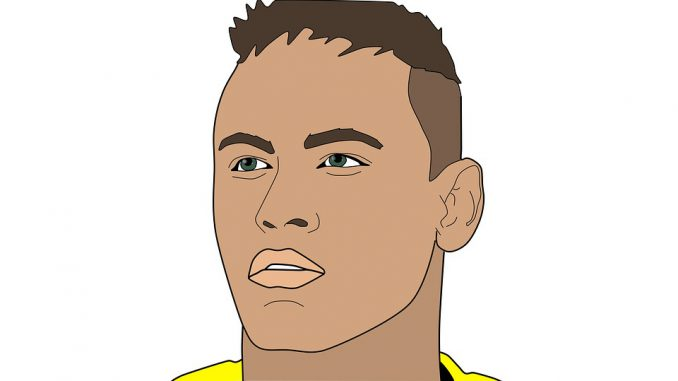 Brésil Mexique. Neymar ouvre le score