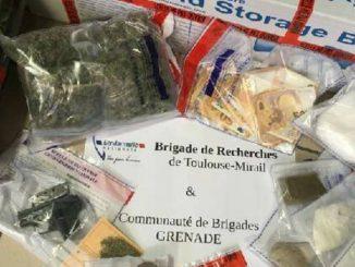 Cocaïne, Héroïne, le GIGIN arrête 5 trafiquants, drogue dure et armes saisies au nord de Toulouse