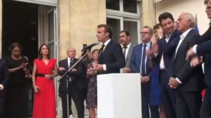 """Emmanuel Macron : """"Le seul responsable, c'est moi"""""""