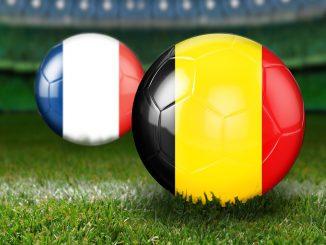 France Belgique. Mbappé chambré par Pogba et Griezmann