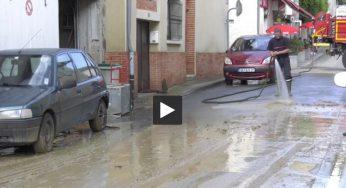 Inondations. à Gaillac Toulza l'heure est au nettoyage