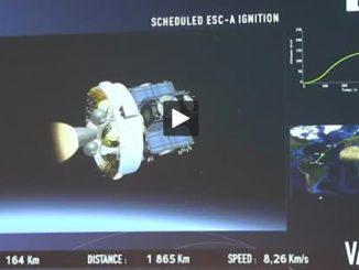 Lancement de quatre satellites galileo en direct de la Cité de l'espace