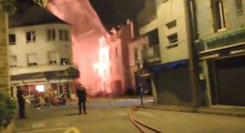 Quiberon. Énorme explosion au centre-ville, plusieurs blessés