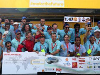 Record du monde pour des étudiants toulousains ... invités chez Ferrari