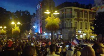 La France en finale. scènes de joie à Toulouse, Tarbes ou Albi