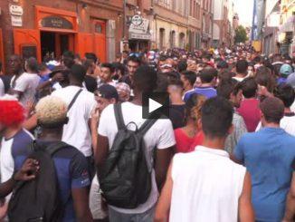 Toulouse et toute l'Occitanie a fêté la victoire des Bleus en Coupe du monde