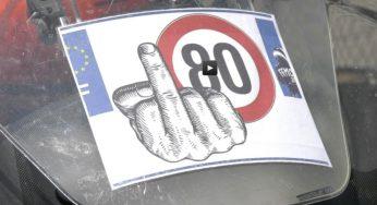 Toulouse, les motards disent non aux 80 km/h