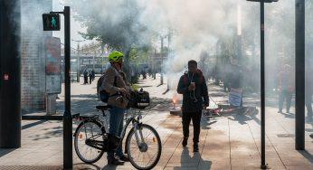 Un collaborateur de Macron soupçonné de violences le 1er mai
