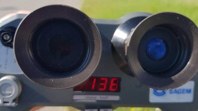 Une conductrice à 137 km h sur une portion limitée à 80 à l'est de Toulouse