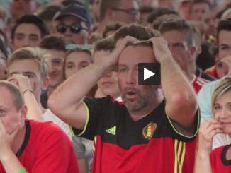 en Belgique, soirée émotion dans les Fans Zones en attendant Brésil Belgique