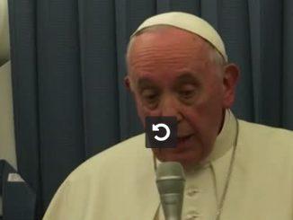 Le pape recommande la psychiatrie pour les jeunes homosexuels