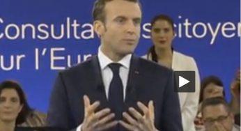 """""""Les Gaulois réfractaires au changement"""" nouvelle bourde d'Emmanuel Macron"""