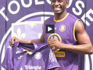 Toulouse Football Club. Mbia portera le numéro 25 mais ne jouera pas face à Nîmes