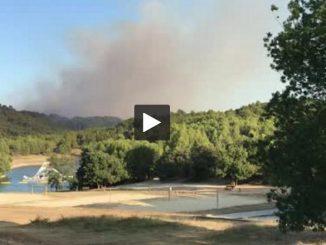 Aude. un incendie détruit 80 hectares non loin de Carcassonne à Fontiès d'Aude