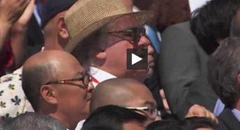 Depardieu en Corée du Nord pour le 70e anniversaire du régime