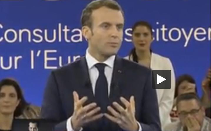 Macron ne change pas de politique