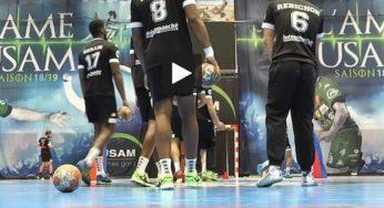 Handball. le Fenix Toulouse à Trembley