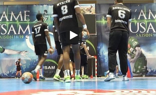 Handball. le Fenix Toulouse à Trembley