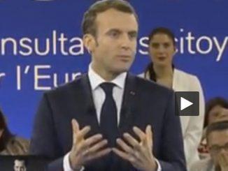 Macron nommé champion de la Terre