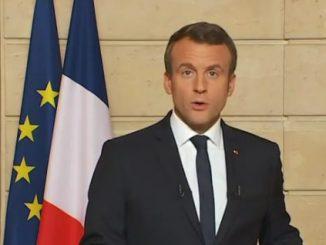 Macron, pic d'impopularité (sondage)