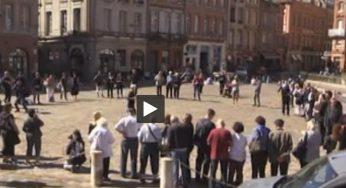 Manifestation à Toulouse après le suicide d'un homme au centre de rétention de Cornebarrieu