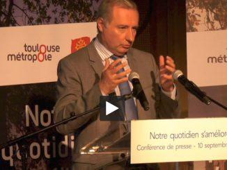 Moudenc donne sa traditionnelle conférence de presse de rentrée